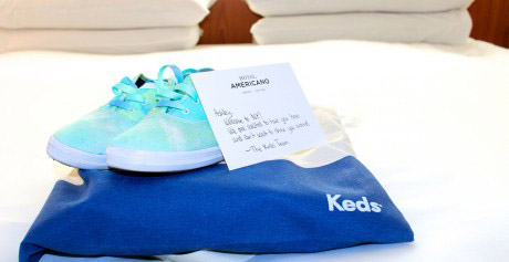 New York with Keds