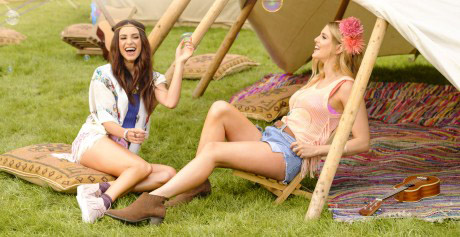 Danielle Peazer and I are the face (and legs) of Bic Soleil
