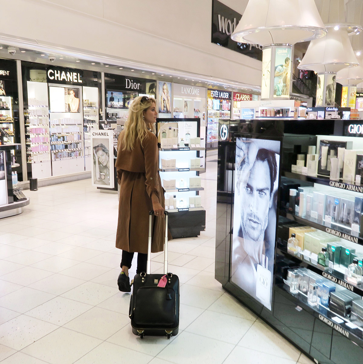 Ashley James aspinal luggage