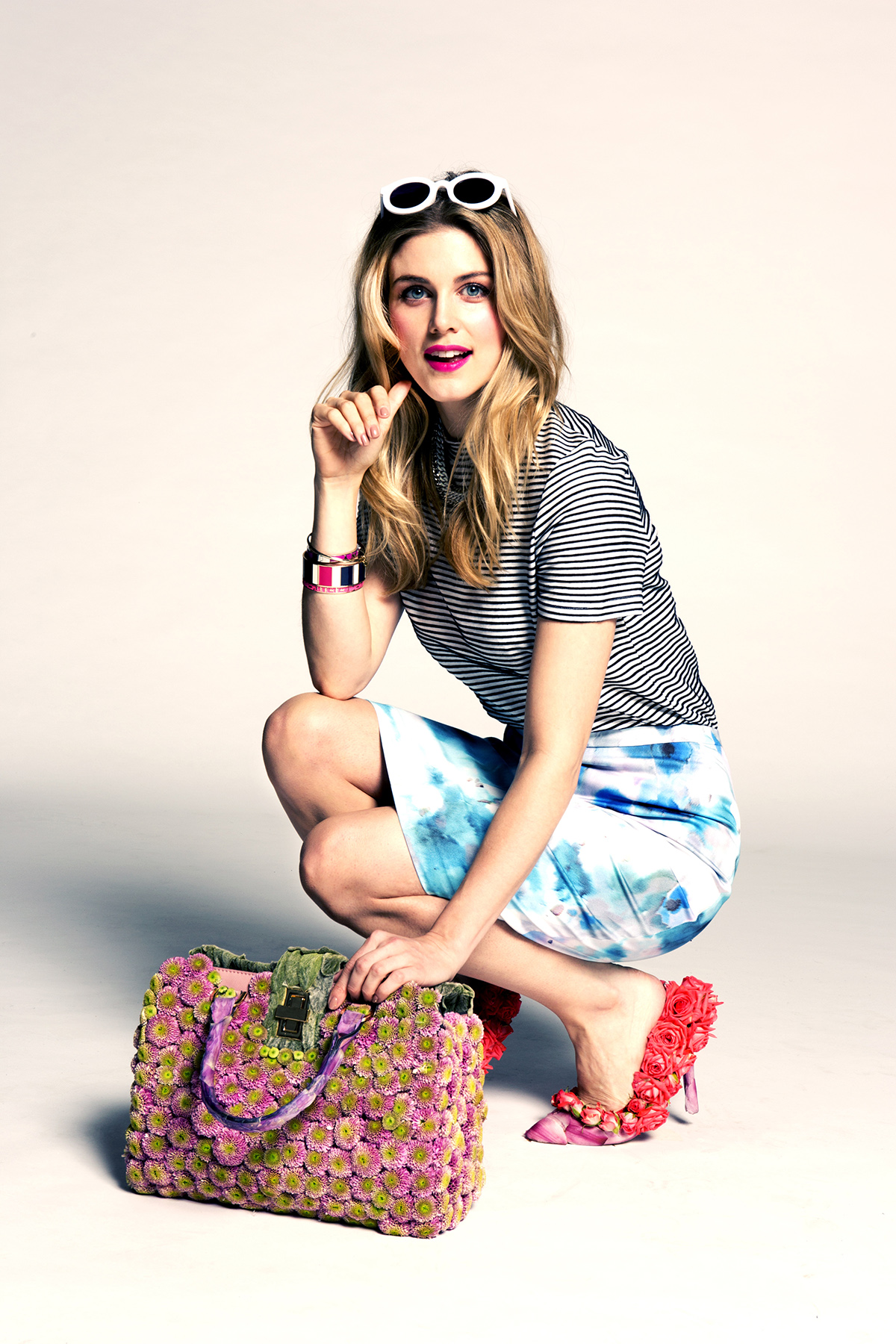 The Spring Summer accessories camaign at McArthurGlen Designer Outlets UK -2nd 20th April, featuring Ashley James (5)