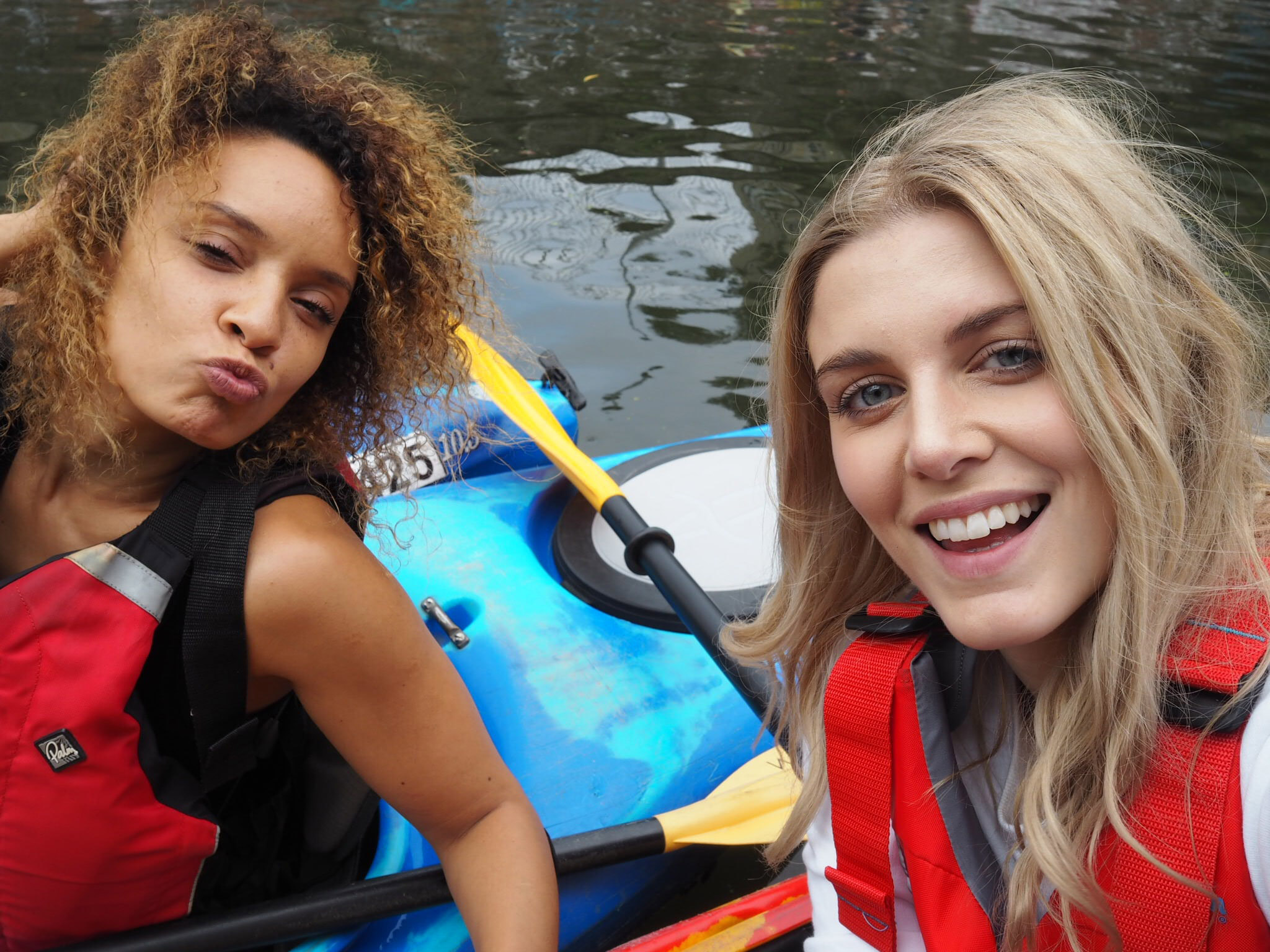 Ashley James Pandora Kayaking London