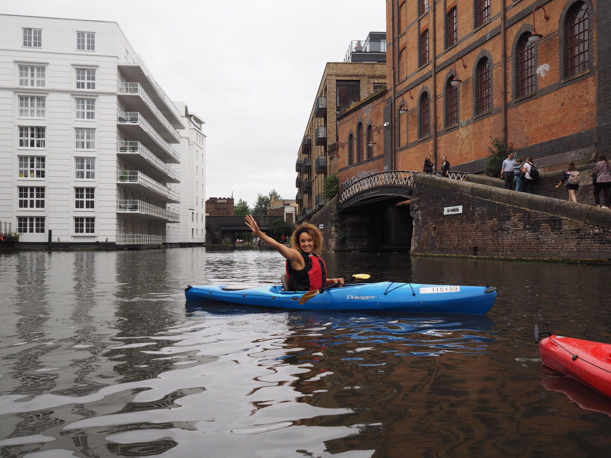 kayaking london