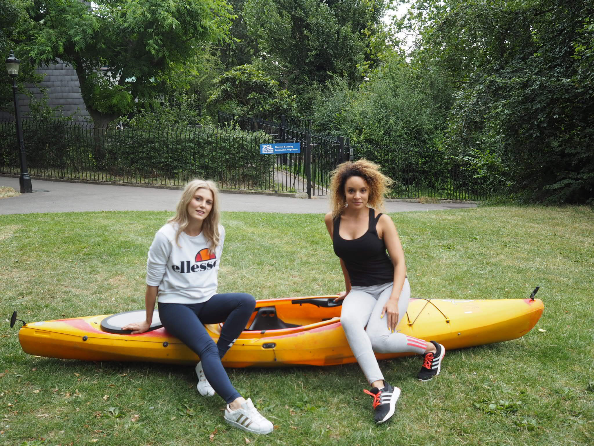 kayaking Ashley James london