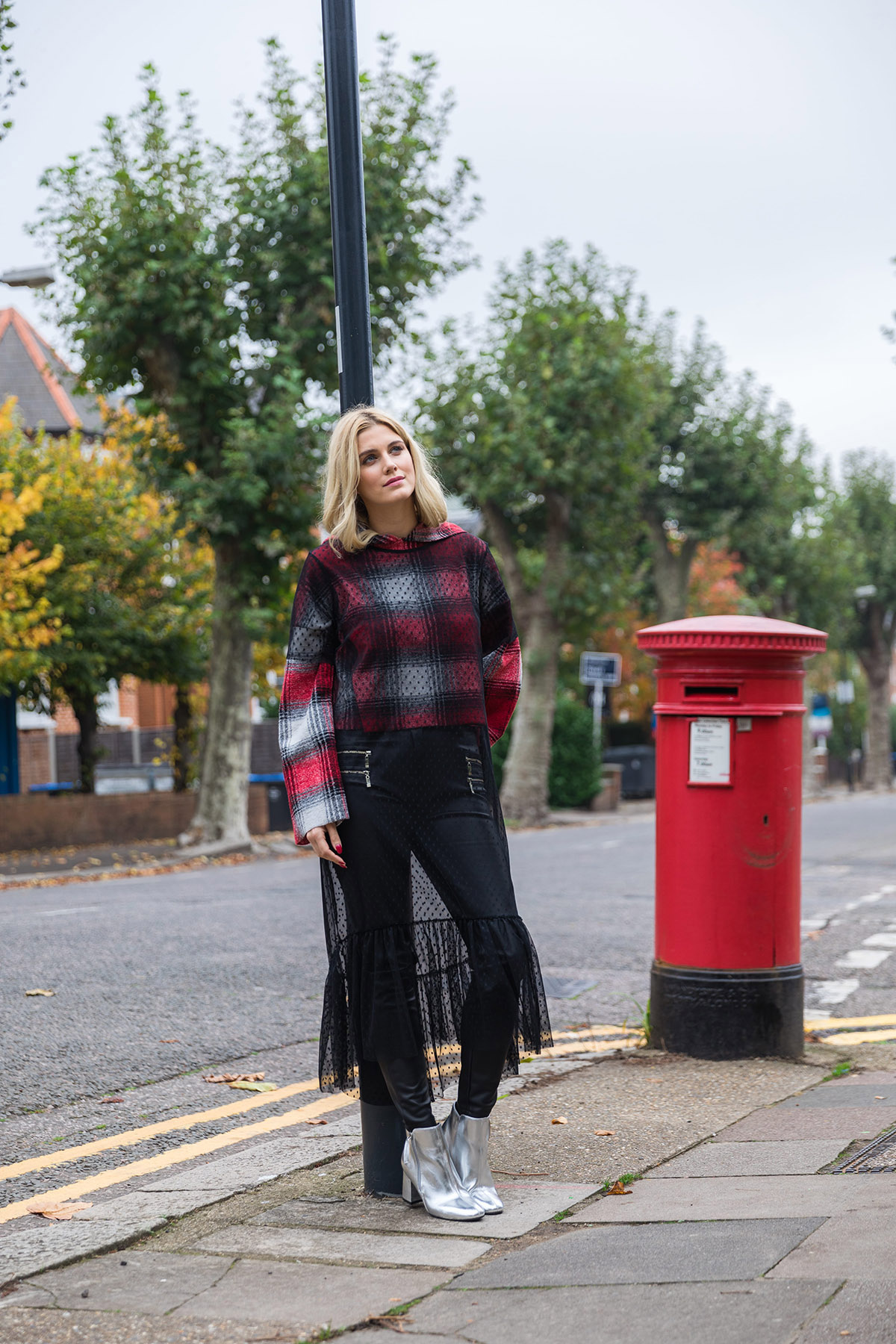 Ashley James leather trousers