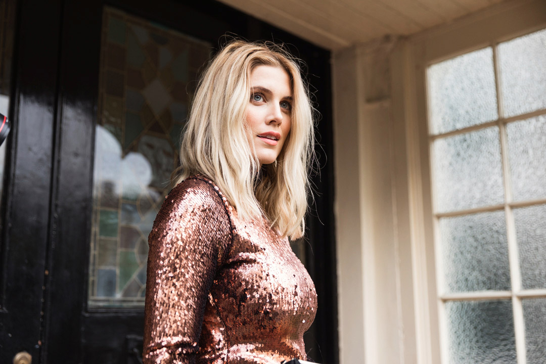 5 Ways To Wear Christmas Party Ashley James