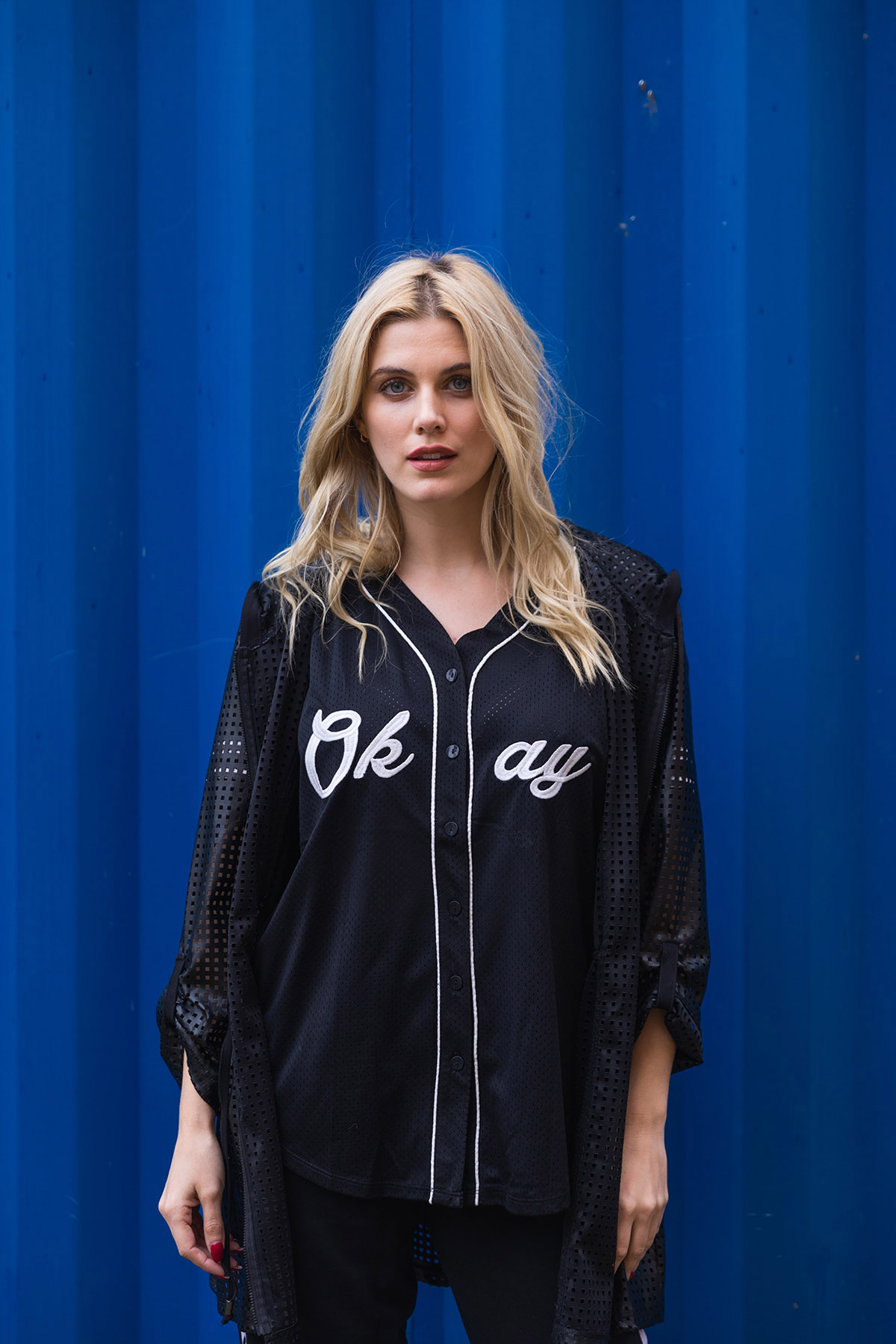 ashley james ath-leisure baseball top