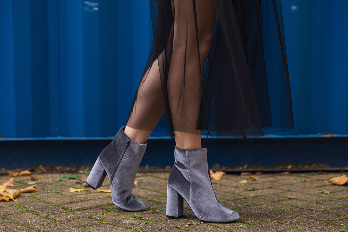 grey suede ankle boots ashley james