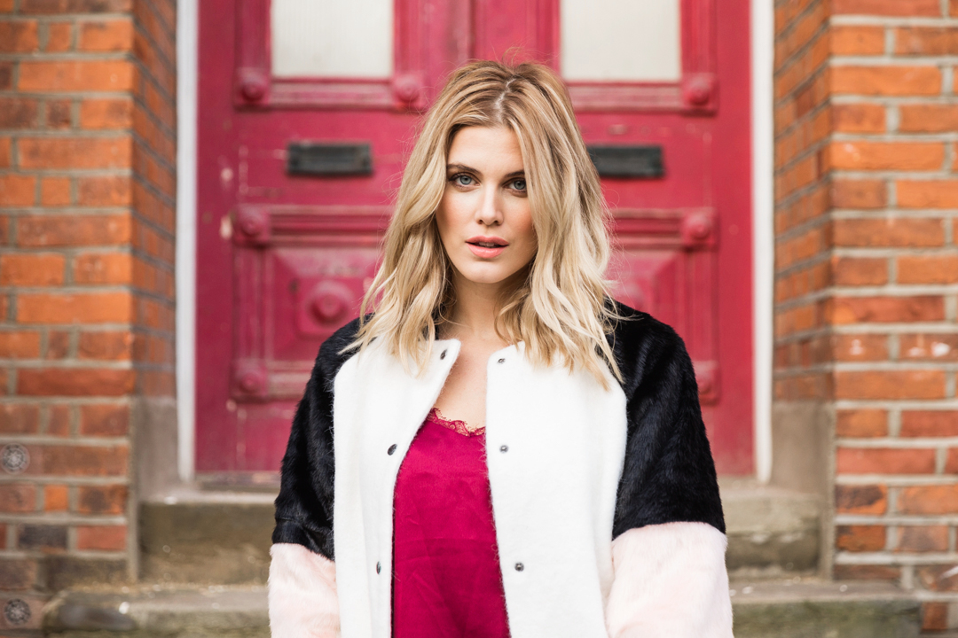 How to wear faux fur Ashley James Missy Empire