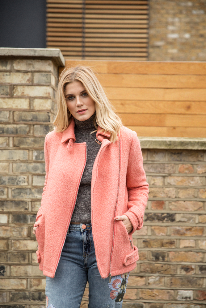 5 ways to wear Winter Dates Ashley James floral jeans