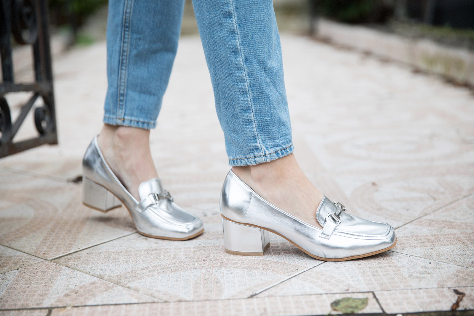 5 ways to wear Winter Dates Ashley James silver brogues