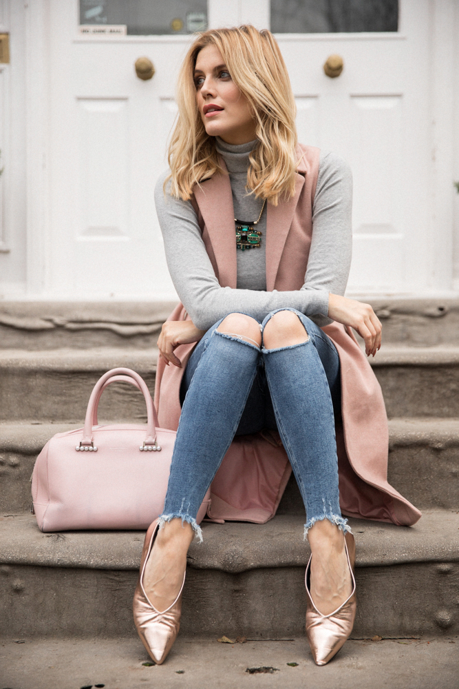 5 ways to wear Winter Dates Ashley James rose gold