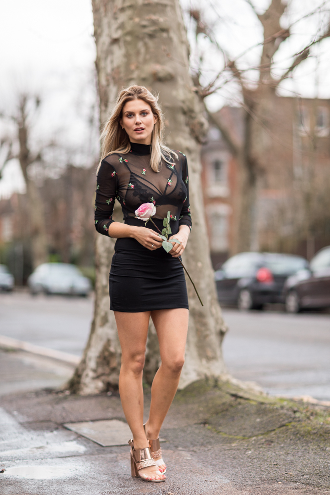 What to wear on Valentine's day Ashley James 5 ways to wear New Look