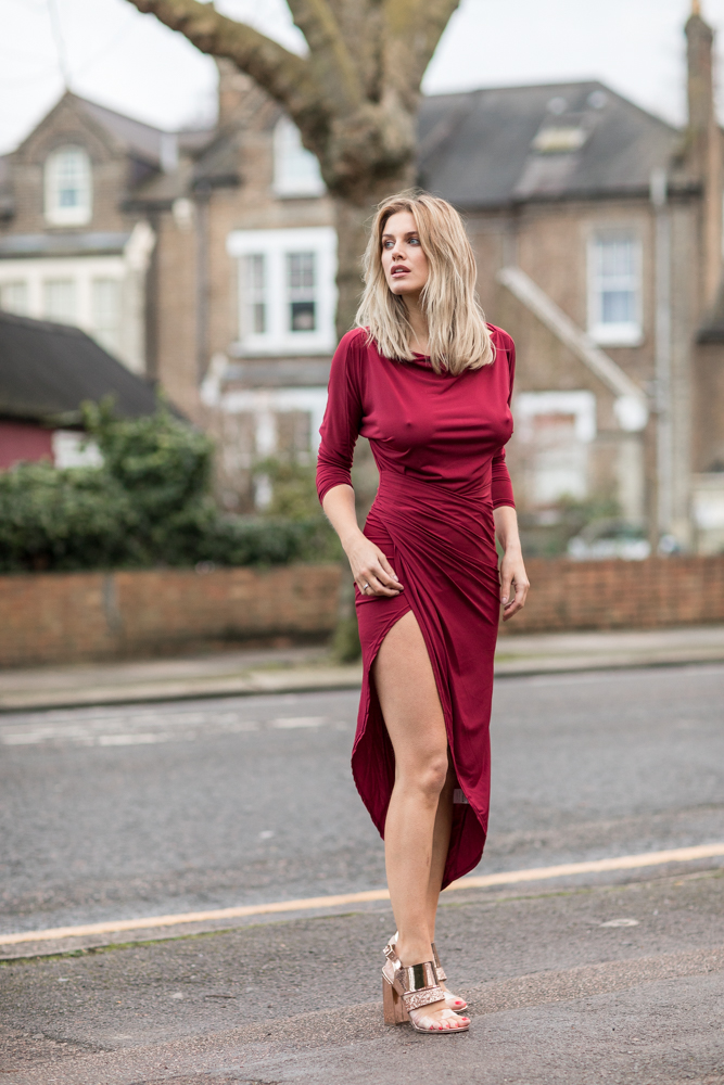 What to wear on Valentine's day Ashley James 5 ways to wear silkfred
