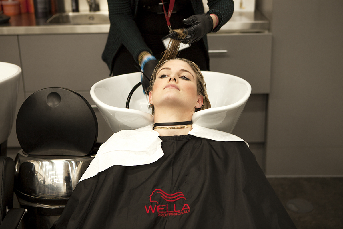 Ashley James Wella Colour Transformation