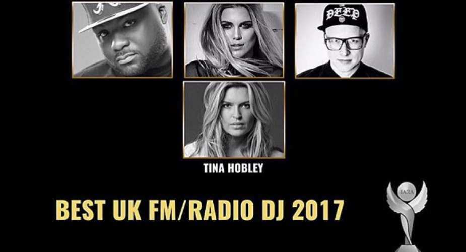 I've been shortlisted for an IARA Award for best UK FM / Radio DJ!
