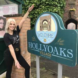 I'm hosting the Hollyoaks Facebook Live at the Soap Awards!