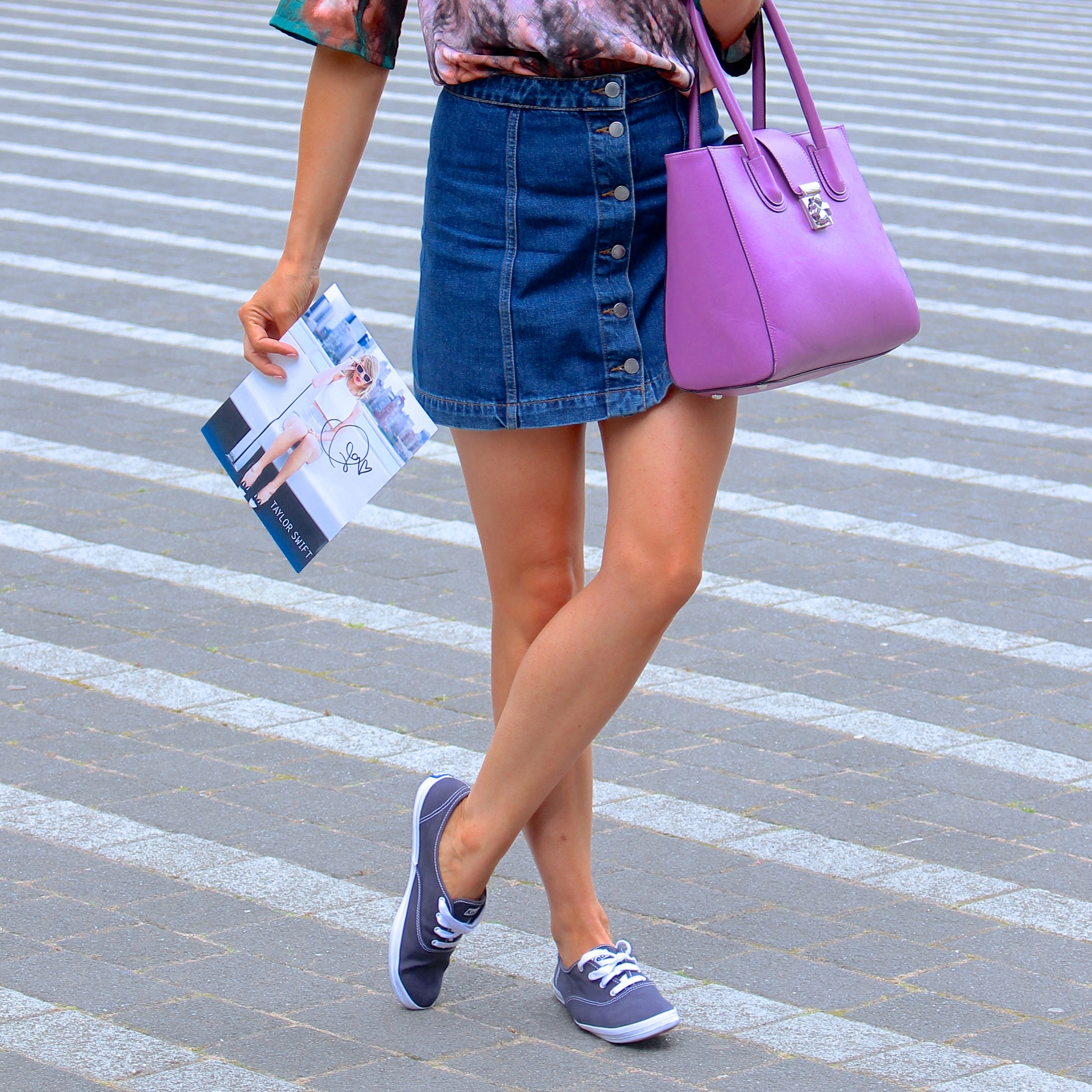 Taylor Swift with Keds