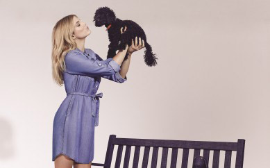I'm the face of Oasis's Love My Denim (Love my Dog) Campaign