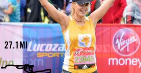 Running the London Marathon!