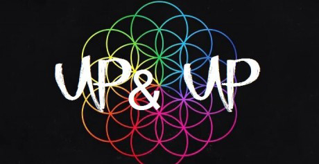 Coldplay's Up & Up is this week's Track of the Week