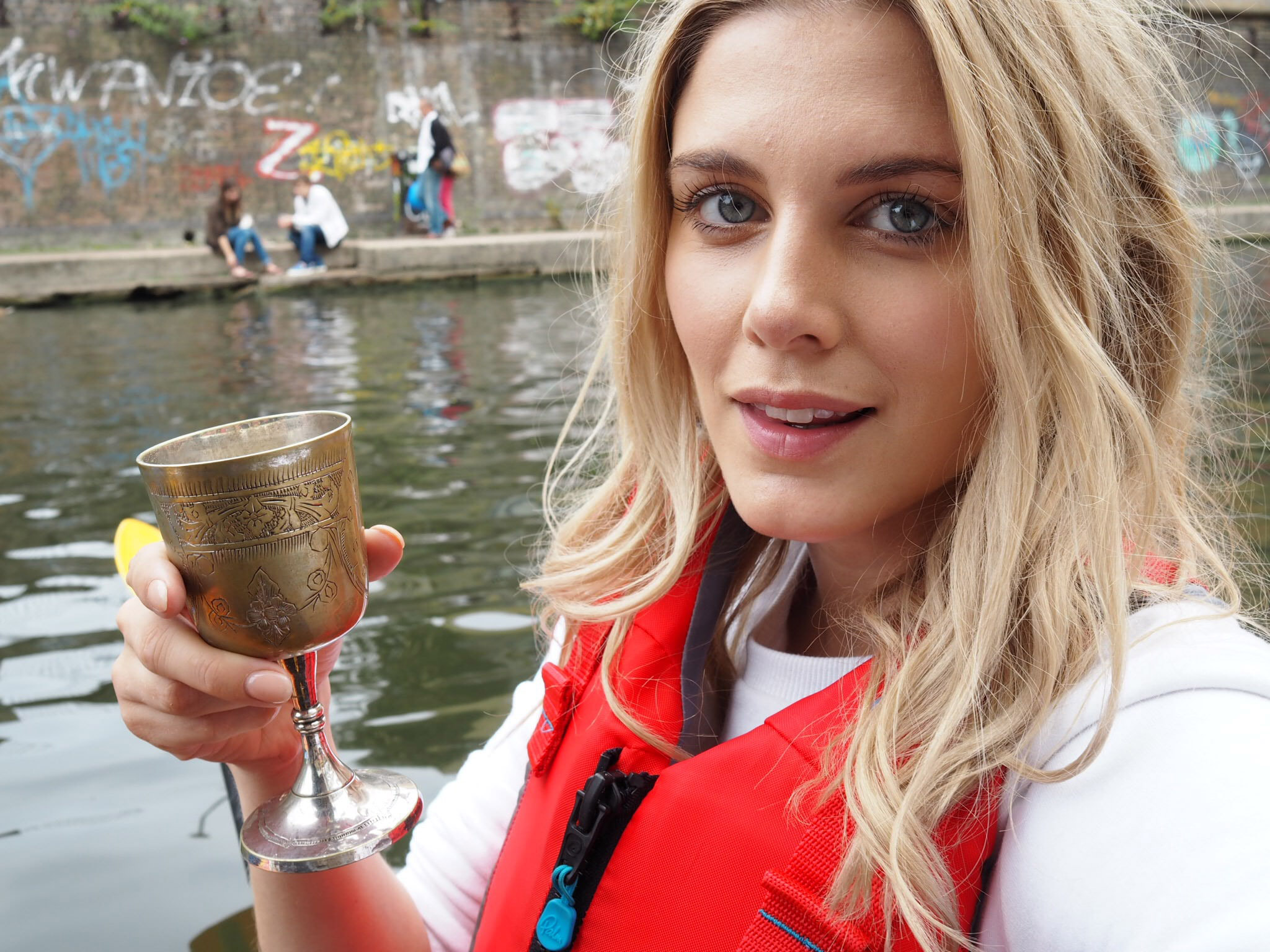 Ashley James Kayaking London