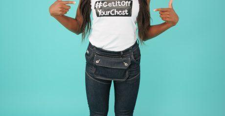 AJ stars in Coppafeel's #GetItOffYourChest Campaign
